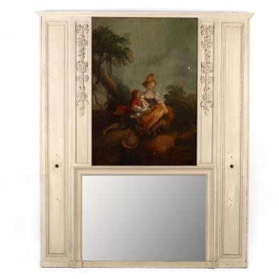 an-antique-french-trumeau-mirror