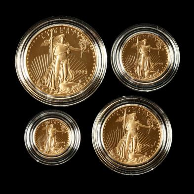 1993-gold-american-eagle-four-coin-proof-set