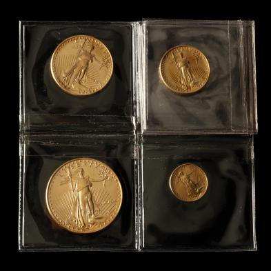 uncirculated-denomination-set-of-four-gold-american-eagles