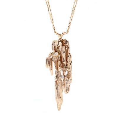 gold-and-diamond-brutalist-pendant-necklace