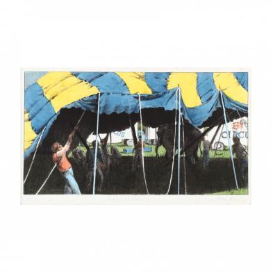 maud-gatewood-american-1934-2004-i-day-of-the-circus-i