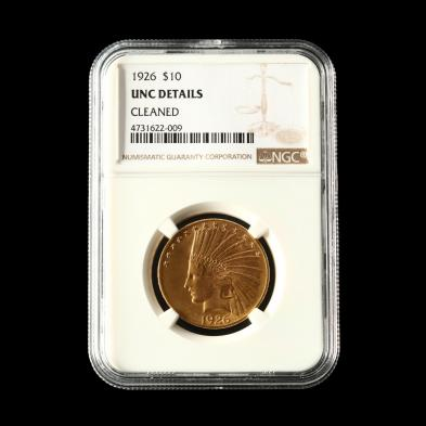 1926-10-gold-indian-head-eagle-ngc-unc-details-cleaned