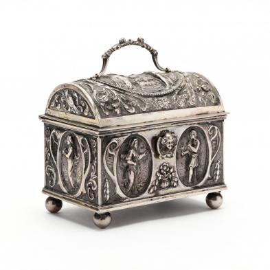 an-antique-dutch-2nd-standard-silver-jewelry-casket