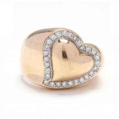 14kt-gold-and-diamond-heart-ring