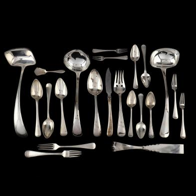 a-collection-of-dutch-2nd-standard-silver-flatware