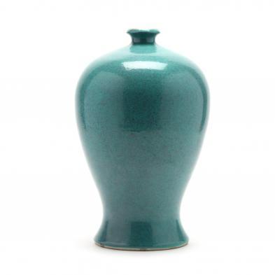 a-chinese-monochrome-duck-egg-blue-porcelain-vase