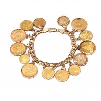 gold-coin-charm-bracelet
