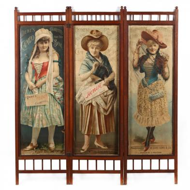 duke-tobacco-poster-double-sided-folding-screen