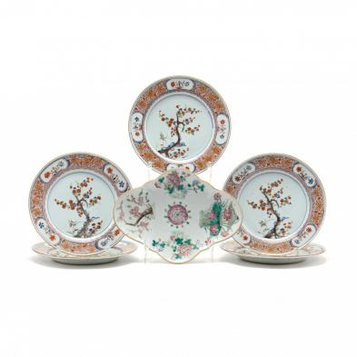 a-group-of-qing-dynasty-chinese-porcelain