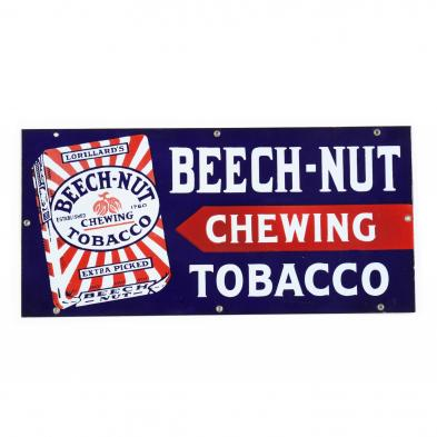 beech-nut-chewing-tobacco-enameled-sign