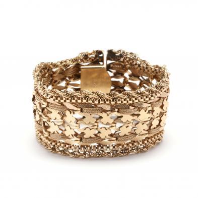 14kt-wide-gold-bracelet