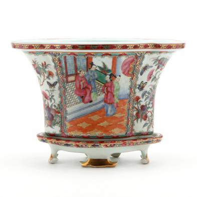 a-chinese-famille-rose-mandarin-jardiniere-and-cachepot