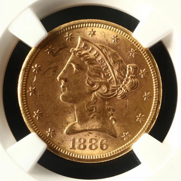 1886-s-5-liberty-head-gold-half-eagle-ngc-ms61