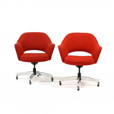 pair-of-knoll-style-office-chairs