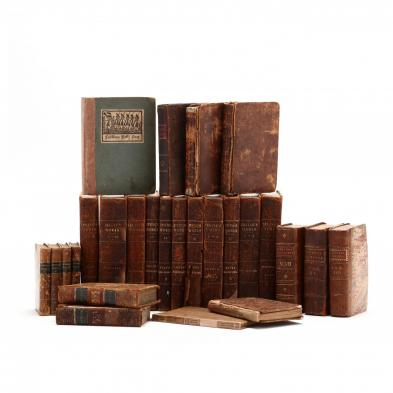 group-of-26-leatherbound-antique-books