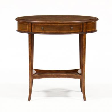 maitland-smith-regency-style-inlaid-one-drawer-stand