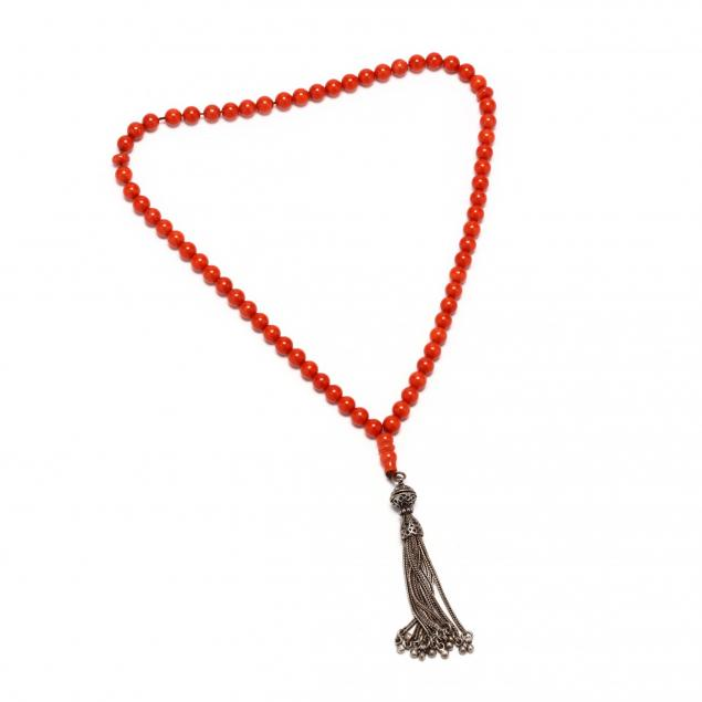 coral-bead-prayer-beads