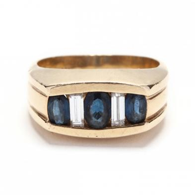 14kt-gold-diamond-and-sapphire-ring