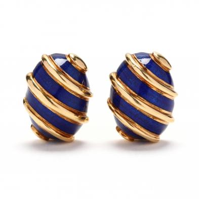 18kt-gold-enamel-earrings-schlumberger-for-tiffany-co