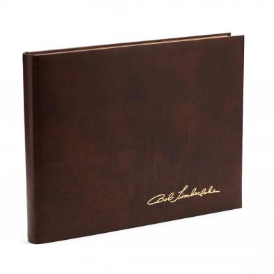 i-the-bob-timberlake-collection-i-signed-leatherbound-book