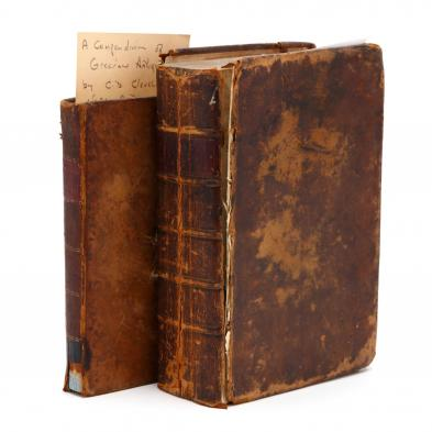 two-antique-leatherbound-books