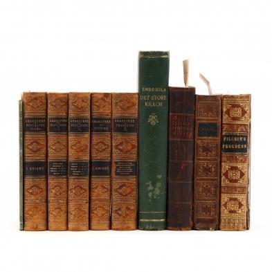 ten-vintage-and-antique-books-of-literature