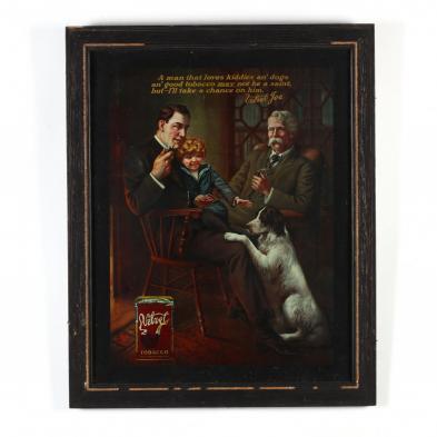 victorian-velvet-tobacco-framed-advertisement
