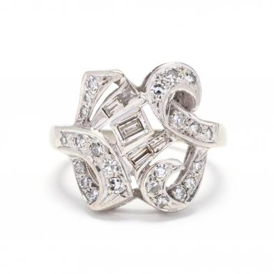 white-gold-and-diamond-ring