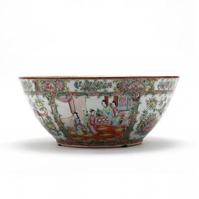 large-chinese-export-rose-medallion-punch-bowl