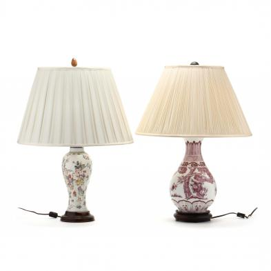 two-chinese-porcelain-lamps