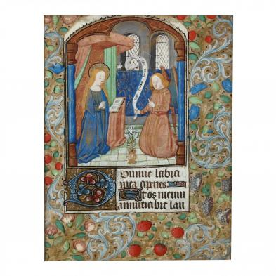 early-illuminated-manuscript-page-from-the-book-of-hours