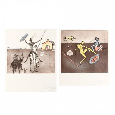 salvador-dali-spanish-1904-1989-i-don-quixote-i-and-i-the-mirror-of-chivalry-i
