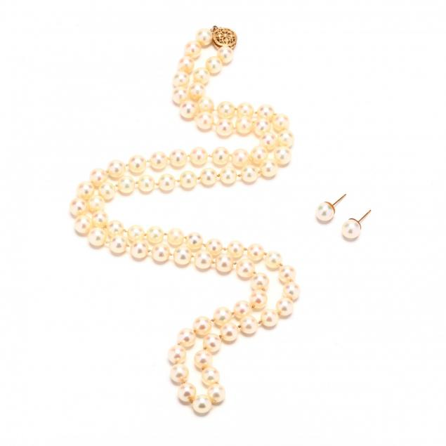 14kt-gold-necklace-and-earrings