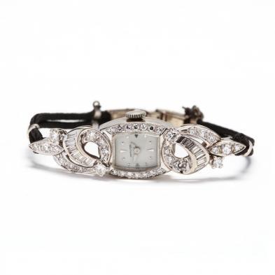 lady-s-vintage-14kt-white-gold-and-diamond-watch-hamilton