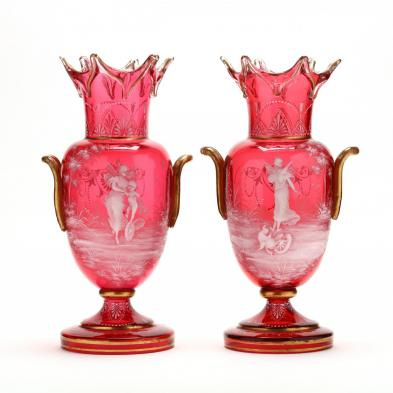 pair-of-large-mary-gregory-double-handled-vases