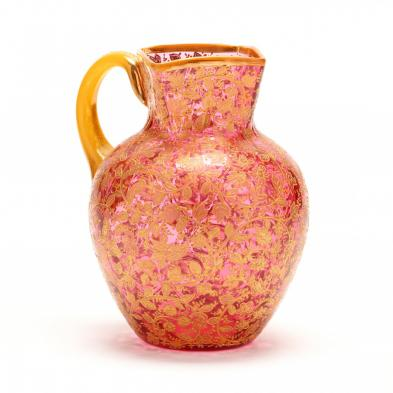 moser-enamel-decorated-pitcher
