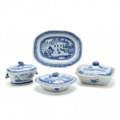 a-group-of-chinese-porcelain-canton-serving-dishes