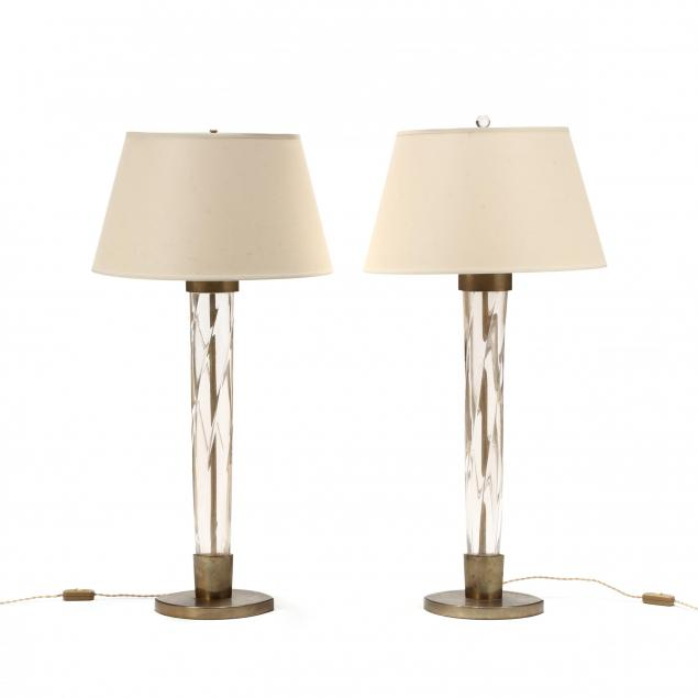 pair-of-vintage-venini-glass-table-lamps
