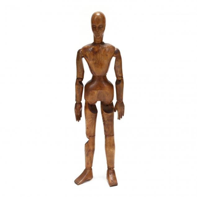 large-vintage-carved-wood-articulated-artist-s-mannequin