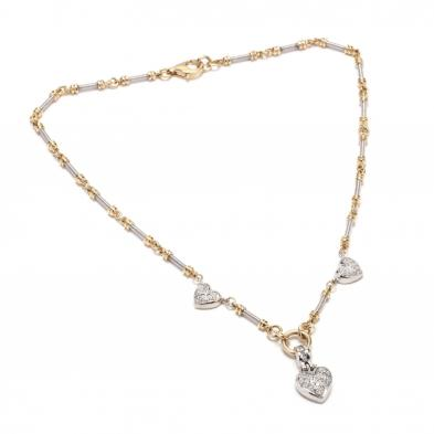 14kt-bi-color-gold-and-diamond-necklace