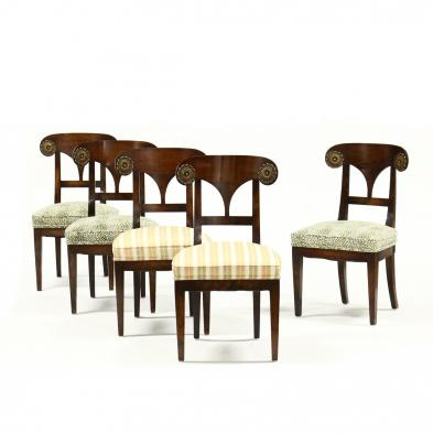set-of-five-neoclassical-style-side-chairs