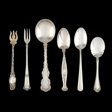 assorted-sterling-silver-flatware