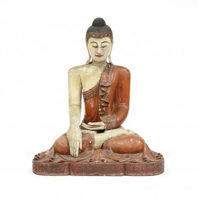 a-large-seated-burmese-carved-mandalay-buddha