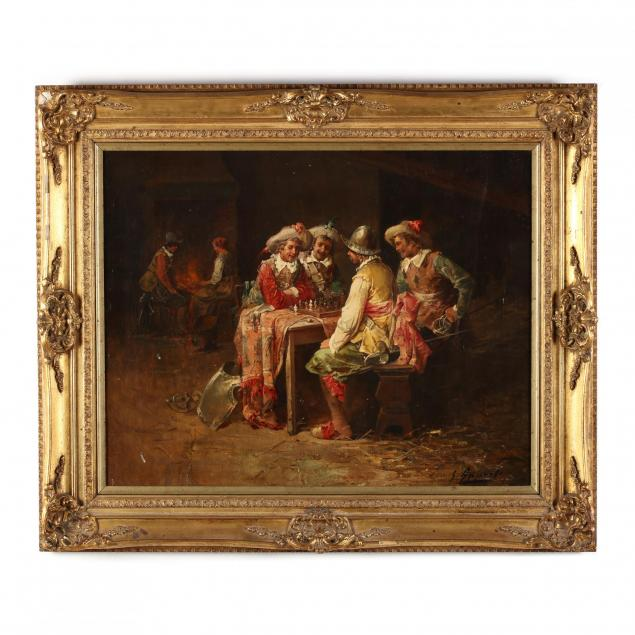 george-appert-french-1850-1934-cavaliers-playing-chess