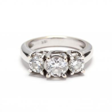 18kt-white-gold-and-three-stone-diamond-ring