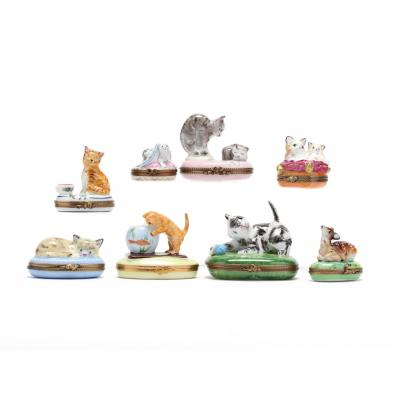 eight-limoges-animal-pill-boxes