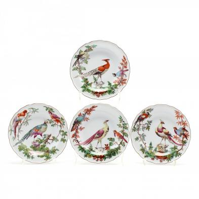 a-set-of-four-mottahedeh-chelsea-bird-plates