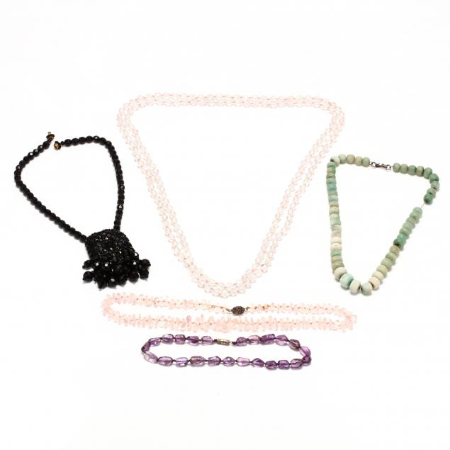 five-bead-necklaces