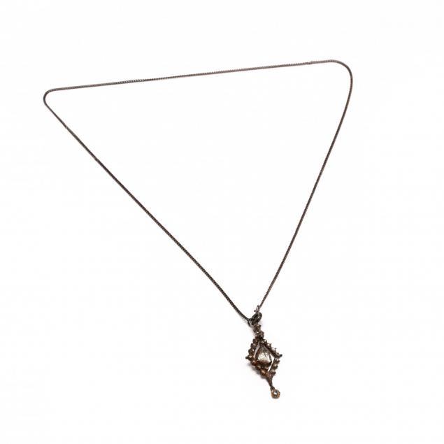 antique-diamond-necklace