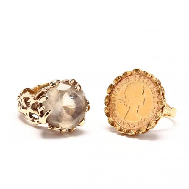 two-gold-rings